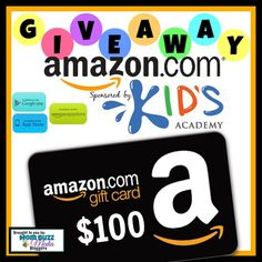 WIN a $100 Amazon Gift Card From Kid's Academy  #SmartKidsWin #MomBuzz