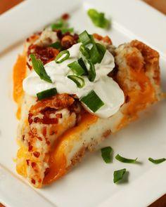 Mashed Potato Pie Recipe by Tasty