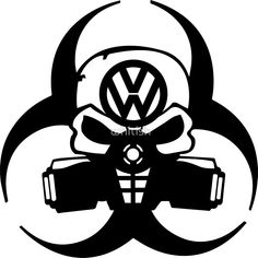 'emission scandal' Sticker by whitish Volkswagen Jetta, Vw T, Gas Mask Art, Masks Art, Gas Masks, Street Dogs, Vw Cars, Ad Art, Black And White Design