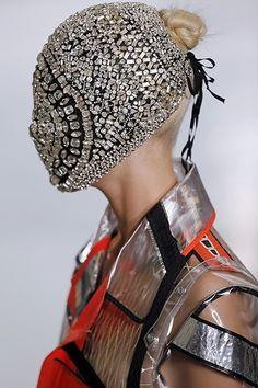 Total Inspiration: maison martin margiela crystal mask