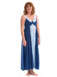Precious Curves Womens Cascade Full Length Nightgown XXXLarge Multicolored      See this great product c6c8d1b28