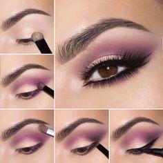 Tutorial de maquillaje de ojos para el día