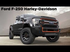 The Ford Harley-Davidson 2020 edition packs a BDS suspension lift with Fox shocks and rides on BF Goodrich tires. Fender flares cover the wide . Harley Davidson Truck, Black Harley Davidson, Engagement Frames, Cool Pictures, Cool Photos, Ford Sport, Summer Body Goals, House Plans One Story, Trucks And Girls