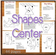The Shapes activities are a great center in this file gives students experiences with a variety of important basic shape concepts. You can introduce the…