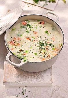 Schwedische Sommersuppe mit Lauch und Lachs (scheduled via http://www.tailwindapp.com?utm_source=pinterest&utm_medium=twpin)