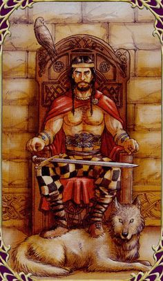The Consort (The Emperor) - Sensual Wicca Tarot