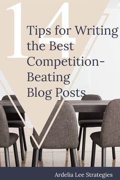 Your small business's blog can give you a competitive advantage - if you let it. Running an amazing blog is an awesome way to set your small business apart from every other online business. But how do you go about creating blog posts that smoke the competition? Check out this post for 14 tips to do just that.
