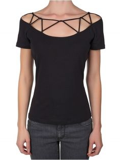 Black Top by Versace Also part of my Shadowhunter outfit!!!