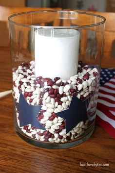 4th of July table decor!