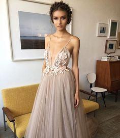 "2,796 curtidas, 41 comentários - MARIIA DEREVIANKO (@mashaderevianko) no Instagram: ""the most beautiful dresses i have ever seen! @berta ♥️ 1 or 2? #berta #model #backstage #couture…"""