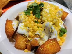 [I Ate] Idli Chaat bowl (Indian street food)