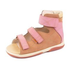 Memo Helios 1JB Girl's High-Top Ankle Support Orthopedic Leather Sandal (Little Kid / Big Kid) * Find out more details by clicking the image : Girls sandals