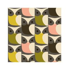 AW15 Big Owl print from the stem range. bags available online and instore #orlakiely