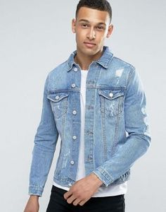 Search for denim jacket at ASOS. Shop from over styles, including denim jacket. Discover the latest women's and men's fashion online Asos, Fashion Essentials, Jeans, Fashion Online, Ideias Fashion, Denim, Fashion Trends, Shopping, Search