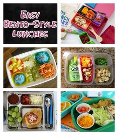 Easy Bento-Style Lunches for Kids