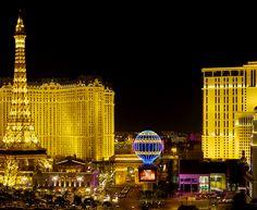 LAS VEGAS STRIP - intervalo da avenida Las Vegas Boulevard South, onde estão os principais hotéis e cassinos de Nevada (EUA) - em Paradise e em Winchester (não na cidade de Las Vegas - é bom tomar nota)