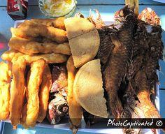 hellshire beach, JA. fry fish, bammy, festival, pickle. miss this taste soo much.