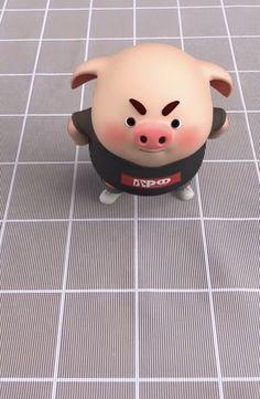 Pig Wallpaper, Alphabet Wallpaper, Funny Phone Wallpaper, Cute Piglets, 3d Art, Wonder Art, Pig Drawing, Pig Illustration, Funny Pigs