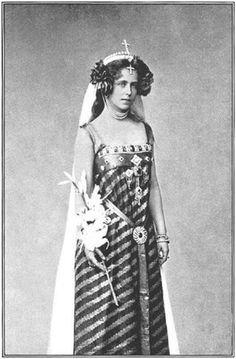 Queen Marie of Romania. Granddaughter of Queen Victoria.