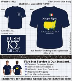 1000 images about kappa sigma rush t shirts on pinterest for Southern fraternity rush shirts