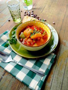 Heirloom Bean & Acorn Squash Chili!