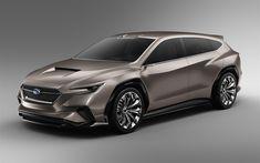 Télécharger fonds d'écran Subaru Viziv Tourer Concept, 4k, 2018 voitures, le Viziv Tourer Concept, les voitures japonaises, Subaru