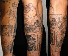 Melanie Nead - Icon Tattoo -The Walking Dead Tattoo - blk/whi