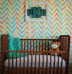 The Kurtz Corner: Painting a Gender Neutral Nursery.. this tutorial is genius