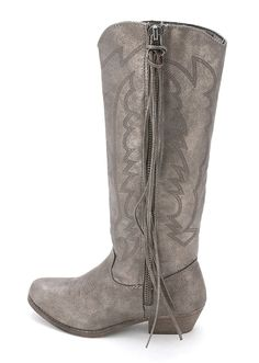 Rampage Womens Telula Fabric Almond Toe Ankle Cowboy Boots, Brown, Size 10.0 ** To view further, visit now : Western boots