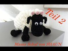 Mama-Schaf von SHAUN das Schaf Häkeln - Stummelschwänzchen - Veronika Hug -Teil 2 - YouTube