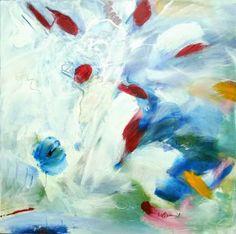 "Saatchi Art Artist Vera Komnig; Painting, ""No. 403"" #art Acrylic on canvas 60x 60 cm New listed at Saatchi Art No. 403 Acrylic on canvs 60x 60 cm http://www.saatchiart.com/art/Painting-No-403/695057/2687187/view# www.verakomnig.com"