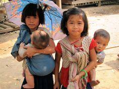 Myanmar children refugees