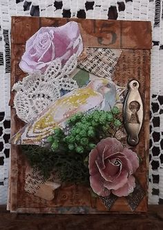 Original ACEO Card miniature acrylic painting by ArtfulSprinkles