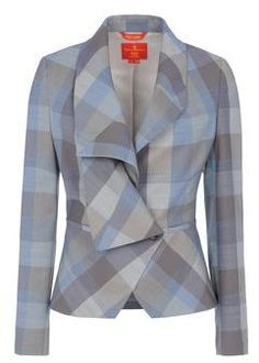 like the blazer but would it look like old-lady clothes on me? You can probably tell I'm not sure how to pick a great blazer Tailored Jacket, Blazer Jacket, Jackett, Fashion Sewing, Work Attire, Mode Inspiration, Shirts & Tops, Jacket Style, Vivienne Westwood
