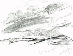 'De berg leidt de wolken omhoog'
