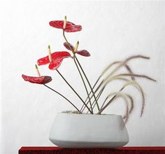 Flower arrangement with Anthurium #Floral #Arrangement