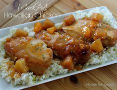 Dump and Go Hawaiian Chicken Recipe | RecipeLion.com