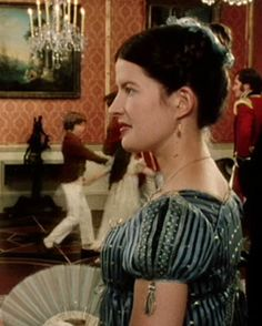 Lucy Scott, Charlotte Lucas - Pride and Prejudice directed by Simon Langton (TV Mini-Series, BBC, Bbc, Jennifer Ehle, Jane Austen Movies, Becoming Jane, Mr Darcy, Pride And Prejudice, Period Dramas, Movies Showing, I Movie