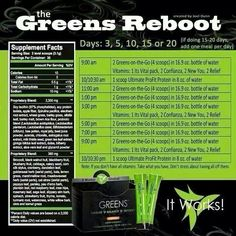 Cannot go without Greens and sooo yummy wrapitwithjustine.myitworks.com
