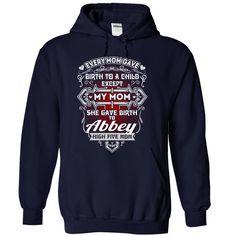 (Top Tshirt Sale) ABBEY s Mom [Guys Tee, Lady Tee][Tshirt Best Selling] Hoodies, Funny Tee Shirts