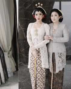 Model Dress Batik, Batik Dress, Wedding Story, Dream Wedding, Model Kebaya, Akad Nikah, Indonesian Girls, Dress Outfits