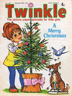 Twinkle was a popular British girl's comic of the and From about 1974 to 1976 I read it avidly, and these comics are from my own collection! Christmas Past, Retro Christmas, Christmas Images, Magical Christmas, Vintage Children's Books, Vintage Comics, Vintage Dolls, 1970s Childhood, My Childhood Memories