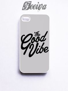 The Good Vibe Gray Phone Case For iPhone Samsung iPod Sony | Feeiva