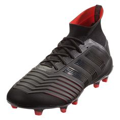 0ae05f3cfdf adidas Predator 19.1 FG Soccer Cleat Core Black Core Black Active Red-6.5