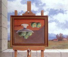 René Magritte (1898-1967) The alarm clock 1957
