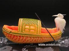 Esculturas con Comida