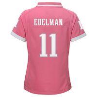 online store ec601 26ea1 Girls Julian Edelman Jersey-Pink | Julian Edelman | Edelman ...