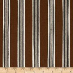 Parsons Gray Katagami Field Stripe Tent Fabric