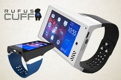 """The manufacturer calls this a """"tablet for your wrist,"""" and with a 3.2-inch Gorilla Glass display, this is nothing like the smartwatch experience. In fact, Rufus Labs says that it """"ends the era of the watch and ushers in the Wrist Computer."""" The Rufus Cuff can do anything that a connected device can do, from […]"""