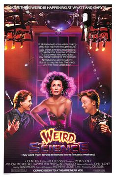 8173f4a362 Return to the main poster page for Weird Science (#2 of 2) 80s · 80s Movie  PostersClassic ...